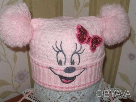 Продам шапку для девочки 4-5 лет весна- осень.В хорошем состоянии.. Миргород, Полтавська область. фото 1