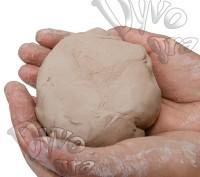 Мягкая натуральная глина для лепки и детского творчества ТМ Dyvogra. Бровары. фото 1