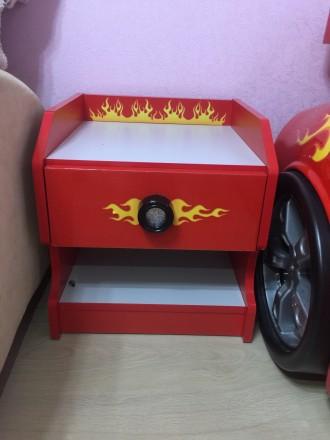 Идеальная мебель для мальчика в идеальном состоянии.В комплекте удобная односпал. Бровары, Киевская область. фото 4