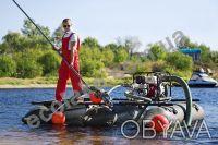 Мини земснаряд для очистки озера. Киев. фото 1