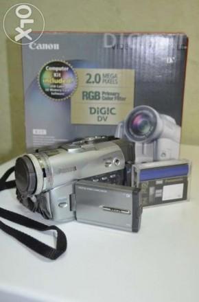 """Видеокамера """"Canon MVX25"""" - (б/у,цифр., хорошее состояние, miniDV,  хор. качеств. Сумы, Сумская область. фото 7"""