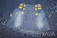 Юбочка джинсовая на 1,5-2,5 года в отличном состоянии. Замеры: длина 24,5см, поя. Харьков, Харьковская область. фото 2