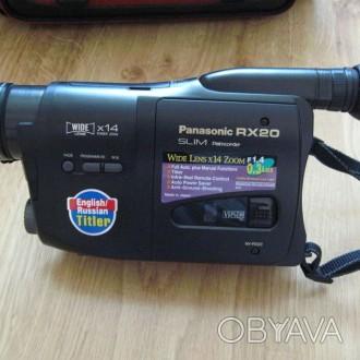 продается видеокамера panasonic RX-20 в исправном состоянии заводской комплект. Николаев, Николаевская область. фото 1