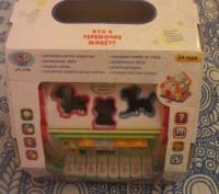 """Логический домик """"Теремок"""" — многофункциональная развивающая музыкальная игрушка. Борисполь, Киевская область. фото 3"""