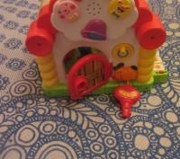 """Логический домик """"Теремок"""" — многофункциональная развивающая музыкальная игрушка. Борисполь, Киевская область. фото 10"""