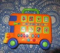Музыкальный автобус, PlayGo. Крепкий, качественный пластик. Сертифицирован в Евр. Борисполь, Киевская область. фото 3