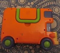 Музыкальный автобус, PlayGo. Крепкий, качественный пластик. Сертифицирован в Евр. Борисполь, Киевская область. фото 5
