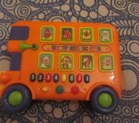 Музыкальный автобус, PlayGo. Крепкий, качественный пластик. Сертифицирован в Евр. Борисполь, Киевская область. фото 2