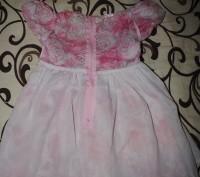 Красивое нежное платье для малышки, р.98см. Длина 52 см, ширина 27 см, по талии . Полтава, Полтавская область. фото 4