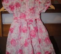 Красивое нежное платье для малышки, р.98см. Длина 52 см, ширина 27 см, по талии . Полтава, Полтавская область. фото 3
