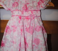Красивое нежное платье для малышки, р.98см. Длина 52 см, ширина 27 см, по талии . Полтава, Полтавская область. фото 2