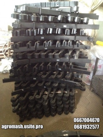 Рессора на тракторный прицеп 2птс4, 2птс6, Кту! Все рессоры есть в наличии. Форм. Орехов, Запорожская область. фото 3