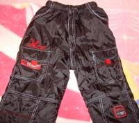 Чорні зимові (лижні) штани для хлопчика, розмір 28, нові, довжина штанини - 86 с. Червоноград, Львовская область. фото 9