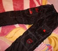Чорні зимові (лижні) штани для хлопчика, розмір 28, нові, довжина штанини - 86 с. Червоноград, Львовская область. фото 4