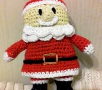 Дед Мороз,связанный крючком. Черкассы. фото 1