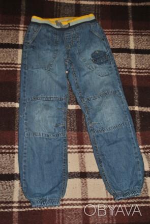 Утепленные джинсы на флисе для мальчика. Фирмы COOL CLUB, размер 140. Пояс на ре. Київ, Київська область. фото 1