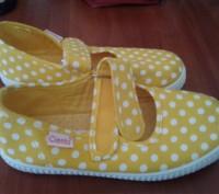 Cienta Испания брендовые туфли-мокасины для девочки 30р 19см. Каменское. фото 1