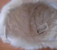 Детская зимняя шапочка с белого исскуственного меха, размер 50, новая, смотрите . Полтава, Полтавська область. фото 5