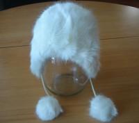 Детская зимняя шапочка с белого исскуственного меха, размер 50, новая, смотрите . Полтава, Полтавська область. фото 2