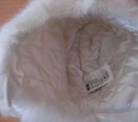 Детская зимняя шапочка с белого исскуственного меха, размер 50, новая, смотрите . Полтава, Полтавська область. фото 4