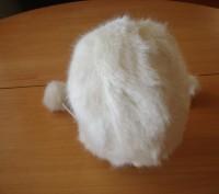 Детская зимняя шапочка с белого исскуственного меха, размер 50, новая, смотрите . Полтава, Полтавська область. фото 3