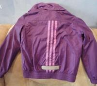 Курточка-ветровка Adidas для девочки 4-5 год.Состояние отличное,идет как термо-в. Полтава, Полтавская область. фото 3
