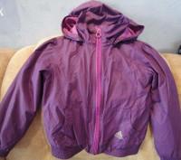 Курточка-ветровка Adidas для девочки 4-5 год.Состояние отличное,идет как термо-в. Полтава, Полтавская область. фото 2