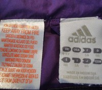 Курточка-ветровка Adidas для девочки 4-5 год.Состояние отличное,идет как термо-в. Полтава, Полтавская область. фото 4