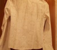Красивая нарядная белая блуза для девочки 11-14 лет,украшена блестящими точками.. Полтава, Полтавская область. фото 3