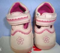 Кожаные - розовые туфельки для маленькой моднице,размер 17.Покупали в Германии,о. Полтава, Полтавская область. фото 3