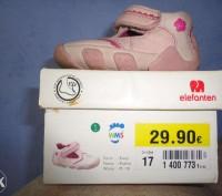 Кожаные - розовые туфельки для маленькой моднице,размер 17.Покупали в Германии,о. Полтава, Полтавская область. фото 2
