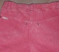 Классные вельветовые брюки кораллового цвета,фирма БЕМБИ,размер 116.Длинна боков. Полтава, Полтавська область. фото 3