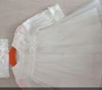 Платья очень красивое ,фирма daga .Размер указан 68,но мы одевали на 1 год.. Карловка, Полтавская область. фото 2