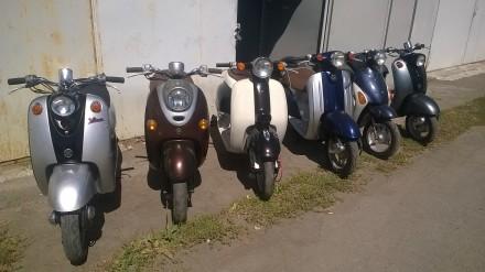 Продам мотороллеры б/у Япония Yamaxa Honda Suzuki без пробега по Украине, все ор. Киев, Киевская область. фото 4
