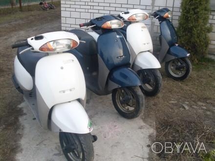 Продам мотороллеры б/у Япония Yamaxa Honda Suzuki без пробега по Украине, все ор. Киев, Киевская область. фото 1
