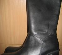 Сапоги женские зимние.Размер 40. Цвет черный. Натуральная кожа, мех натуральная . Полтава, Полтавская область. фото 2