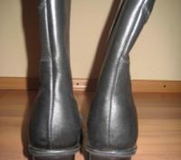 Сапоги женские зимние.Размер 40. Цвет черный. Натуральная кожа, мех натуральная . Полтава, Полтавская область. фото 4