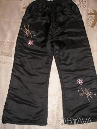 Продам штаны (брюки) зимние на девочку 4-5 лет, в идеальном состоянии.. Миргород, Полтавская область. фото 1