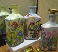 Декорированные бутылки. Ручная работа. Кременчук. фото 1