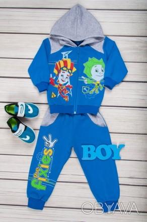 Теплый спортивный костюм для мальчика фиксики, новый спортивный костюм детский