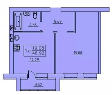 Продажа квартир в Клубном доме с Автономным отоплением ул. Г. Кондартьева 165/57. СНАУ (аграрный), Сумы, Сумская область. фото 7
