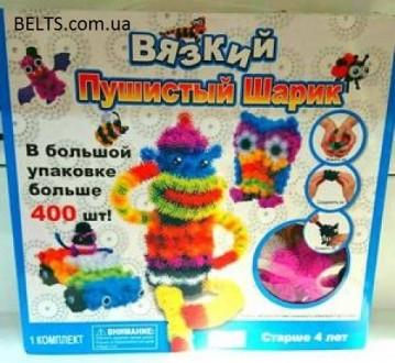 Детский конструктор Вязкий пушистый шарик - это разноцветные шарики, которые по. Киев, Киевская область. фото 4