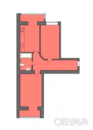 2-х кімнатна квартира в центрі