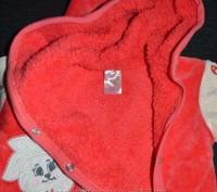 Велюровый человечек, внутри махра. рост 62-68, 3-6 месяцев. Можно и мальчику и д. Павлоград, Днепропетровская область. фото 6