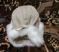 зимняя шапочка для девочки, новая 52 размер в наличии 2 шт. Козельщина, Полтавская область. фото 3