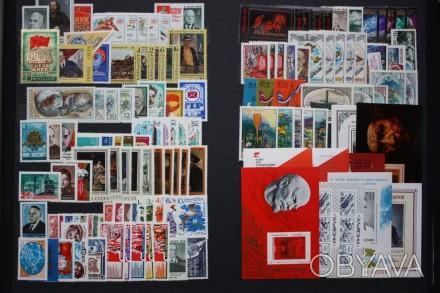 Предлагаю  годовые наборы почтовых марок СССР периода 1960-1991 года. В набор вх. Киев, Киевская область. фото 1