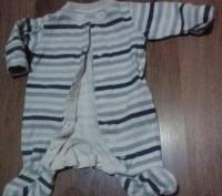 Очень качественные человечки 100% коттон в отличном состоянии для малыша до 3 ме. Сумы, Сумская область. фото 2