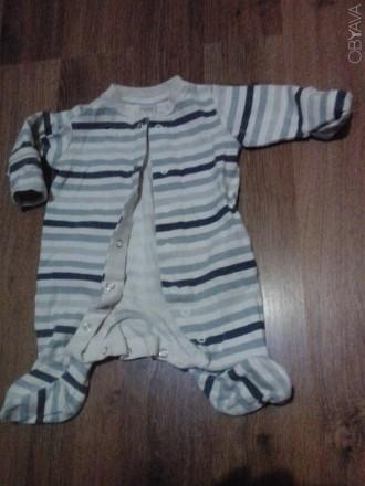 Очень качественные человечки 100% коттон в отличном состоянии для малыша до 3 ме. Сумы, Сумская область. фото 1