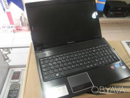 Ноутбук  Lenovo G570 по запчастям (нерабочий).