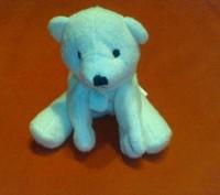 Оригинальная мягкая игрушка Белый медвежонок в берлоге. Параметры в собранном ви. Киев, Киевская область. фото 3